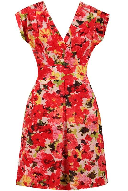 aacea496fd Sukienki w kwiaty z wiosenno - letnich kolekcji - zdjęcie nr 5