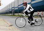 U�atwienie dla rowerzyst�w wg drogowc�w: pr�g zwalniaj�cy