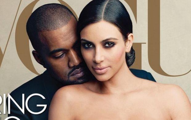 """Kim Kardashian doczeka�a si� ok�adki w biblii mody! A internauci: To oficjalna �mier� """"Vogue'a"""", dali�cie gwiazd� porno"""
