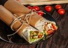 Tortille z kurczakiem i warzywami - Zdjęcia