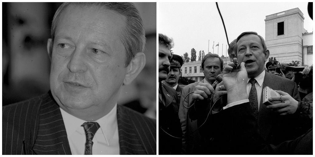 Domaros w swojej książce twierdziła, że ówczesny wicemarszałek Sejmu, Andrzej Kern, brutalnie ją zgwałcił (fot. Sławomir Kamiński / Agencja Gazeta)