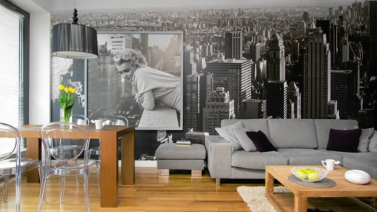 salon aran acja w blasku marilyn monroe. Black Bedroom Furniture Sets. Home Design Ideas