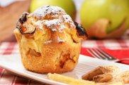 Muffiny z jab�kami