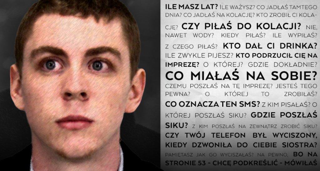 20-letni Brock Turner, student prestiżowego Uniwersytetu Stanforda w USA stanął przed sądem po tym, jak w 2015 roku zgwałcił nieprzytomną dziewczynę