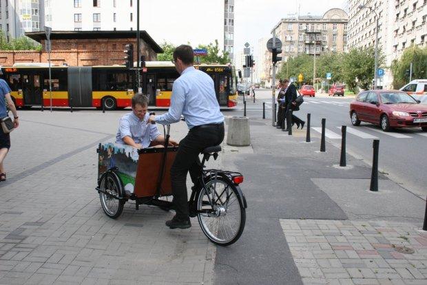 Wypo�ycz rower-baga��wk�. Przewieziesz nawet dzieci