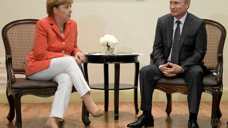 Tajne negocjacje Merkel i Putina? Suwerenność Ukrainy w zamian za uznanie aneksji Krymu