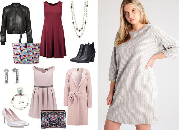Sukienki trapezowe - stylizacje na różne okazje [Moda plus size]