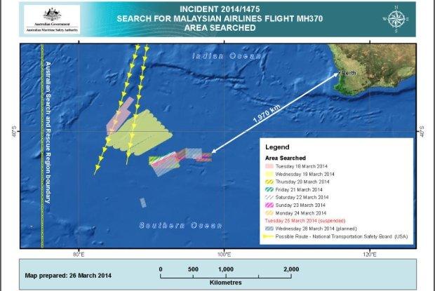 Satelity wykry�y 300 obiekt�w w miejscu poszukiwa� zaginionego boeinga