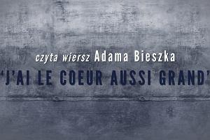 Wszystko jest poezją: Izabela Baran czyta wiersz Adama Bieszka