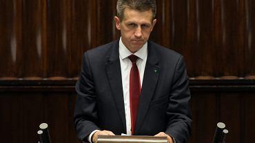 Podkarpacki baron PSL i szef klubu ludowców Jan Bury w Sejmie. Bardzo prawdopodobne, że prokuratura wystąpi do Sejmu o uchylenie mu immunitetu
