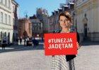 """Joanna Jab�czy�ska, twarz kampanii """"Tunezja. Jad� tam"""", zabiera g�os: Licz� na sprawiedliw� ocen� moich pobudek"""