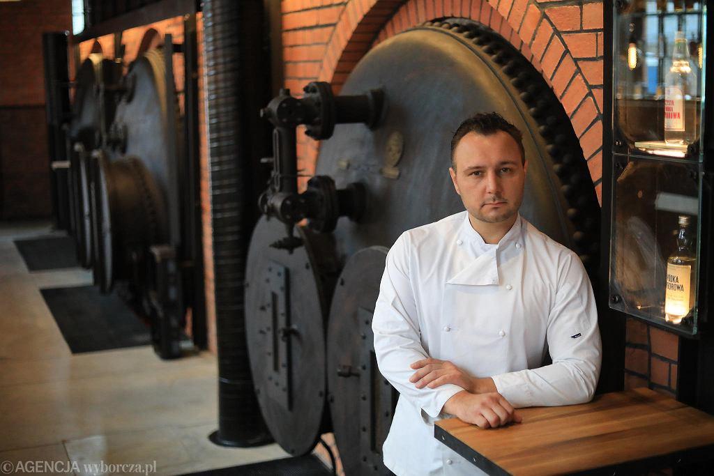 Restauracja Zoni. Szef kuchni Aleksander Baron / JACEK MARCZEWSKI