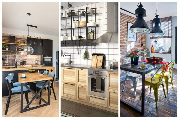 Przykłady aranżacji kuchni w stylu industrialnym