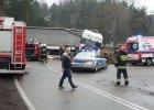 DK 19 w miejscu tragicznego wypadku ju� odblokowana [WIDEO]