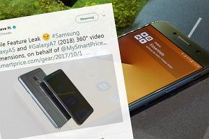 Bezramkowe ekrany zaleją smartfony ze średniej półki? Na razie wyciekły grafiki Galaxy A5 i A7