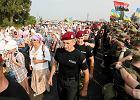 Moskiewska procesja niepokoju w Kijowie