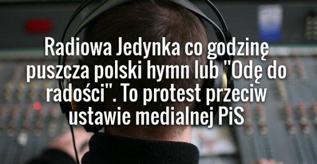 Protest w Polskim Radiu ma trwa� tak d�ugo jak b�dzie m�g�