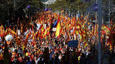 Marsz przeciwko secesji Katalonii, Barcelona