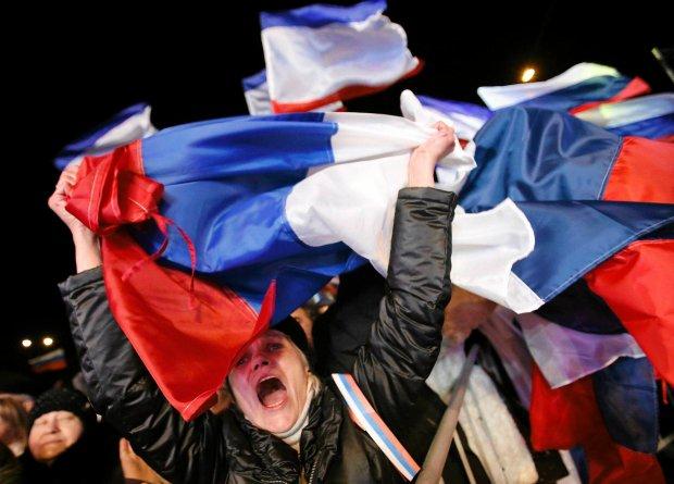 Prorosyjskie demonstracje na Krymie