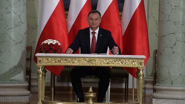 Andrzej Duda podpisuje niemal wszystkie ustawy PiS.