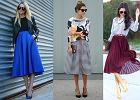 Jak nosić trapezową spódnicę: 3 przykłady modnych jesiennych stylizacji