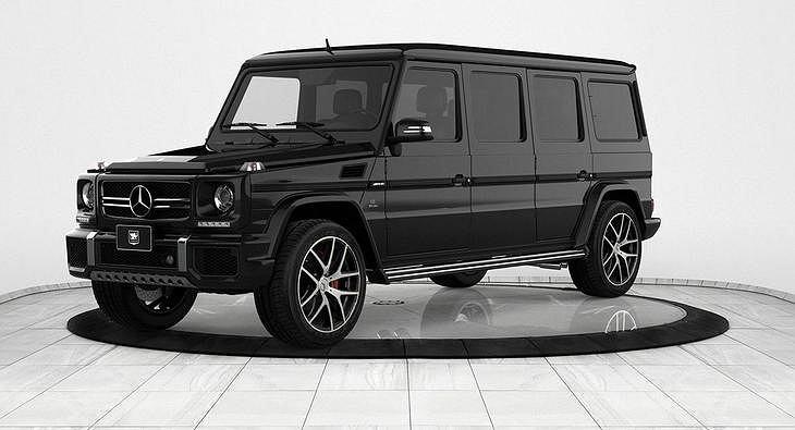 Mercedes klasy G według Inkas