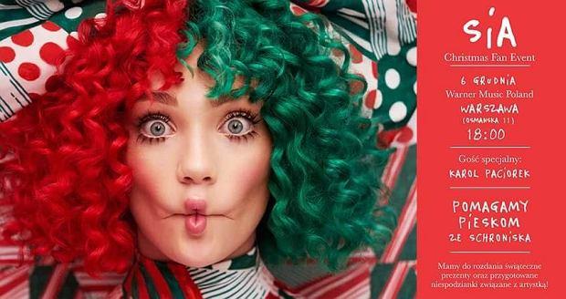 Okres poprzedzający Święta Bożego Narodzenia to czas, w którym bardziej niż kiedykolwiek pragniemy pomagać. Jesteście ciekawi w jaką świąteczną akcję zaangażowała się Sia ?