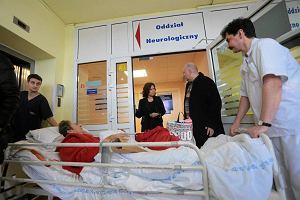 Neurolodzy wr�cili do pracy w szpitalu na Bielanach
