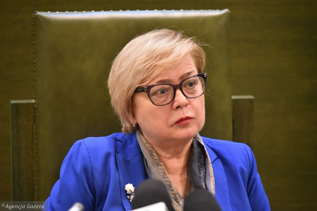 Małgorzata Gersdorf (fot. Franciszek Mazur/AG)