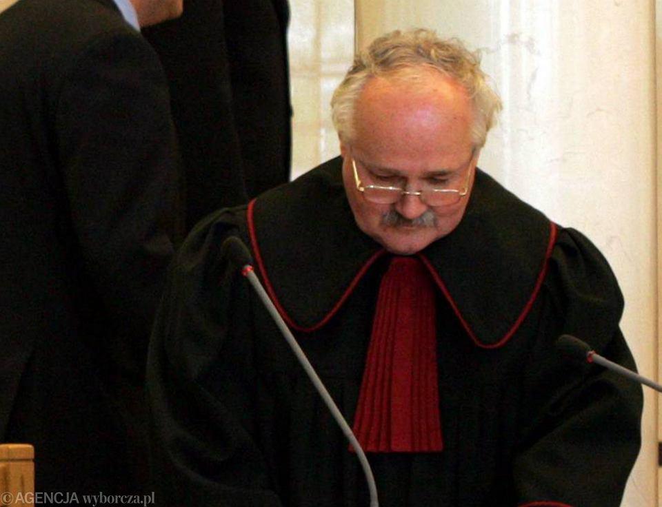 Prokurator Wojciech Sadrakuła, Trybunał Konstytucyjny, 10 maja 2007