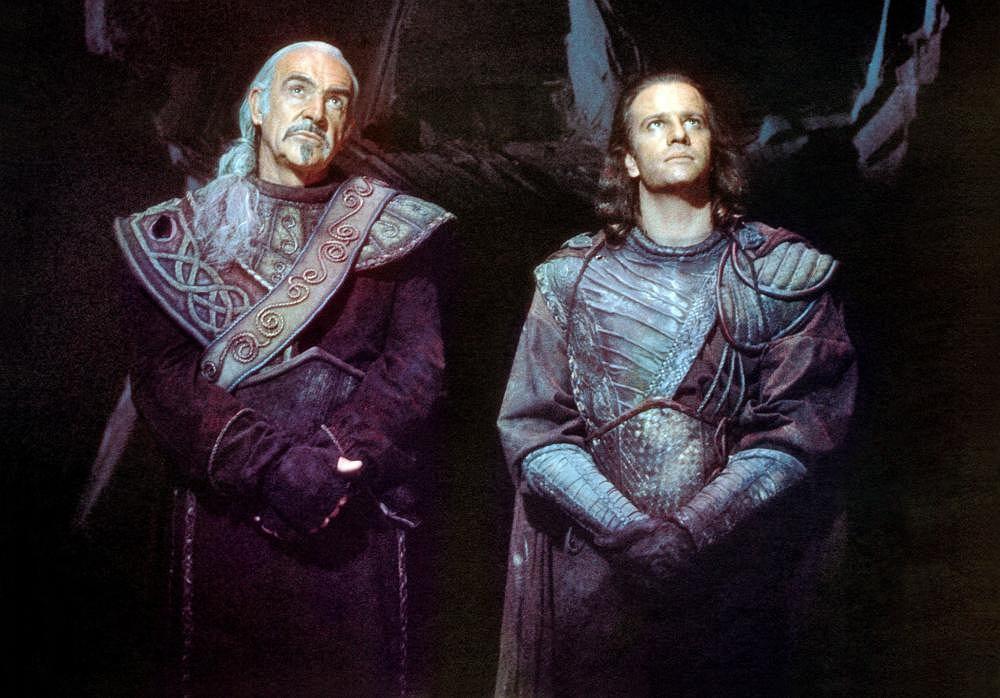 Christopher Lambert i Sean Connery w 'Nieśmiertelnym II' / mat. promocyjne, kadr z filmu, fot. Tristar