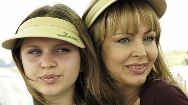 Izabela Trojanowska z córką, Roxanną Trojanowską