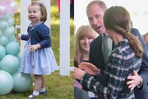 Ksi�niczka Charlotte, ksi�na Kate i ksi��� William