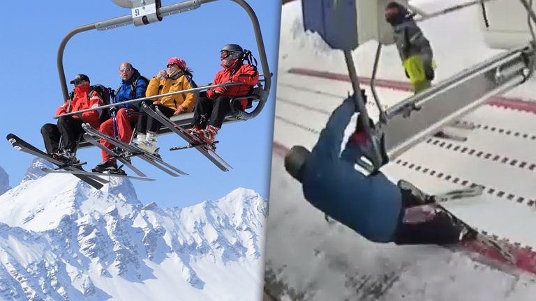 Stacja Czarny Groń opublikowała kolejny film pokazujący, jak nie wsiadać na wyciąg narciarski