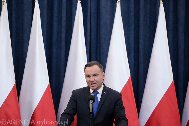 Andrzej Duda: Podpiszę ustawę o IPN. Ale skieruję ją też do Trybunału Konstytucyjnego