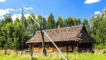 Zwiedzanie skansenu. Skansen Architektury Drewnianej Ludności Ruskiej Podlasia to prywatna inicjatywa mieszkańców. Można tu obejrzeć chaty i zabudowania z przełomu XIX i XX wieku.