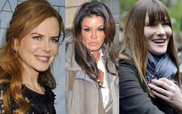 Nicole Kidman, Janice Dickinson, Carla Bruni
