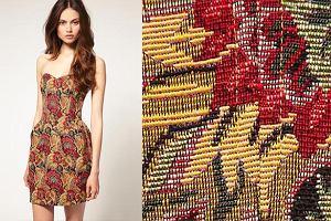 Gobelinowa sukienka Asos - �adna?