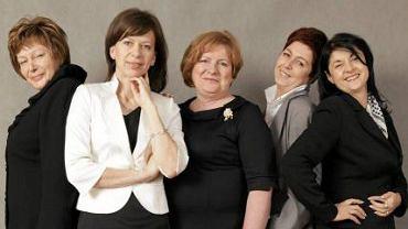 Od lewej: Joanna Szczepańska, Edyta Klasa, Alicja Wąsik, Jolanta Kwiatkowska, Dorota Chałat