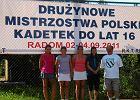 M�odziczki Returnu wicemistrzyniami Polski kadetek!