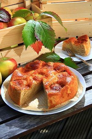 Ciasto z jab�kami