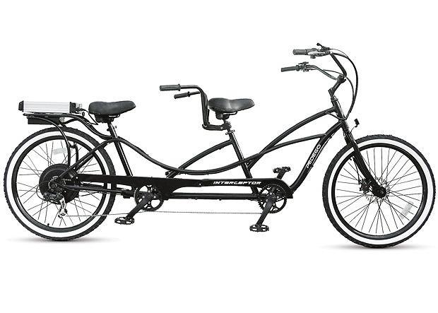 The Only Electric Bicycle Built for Two. Jest jedyny w swoim rodzaju, jest napędzany elektrycznie i jest tandemem