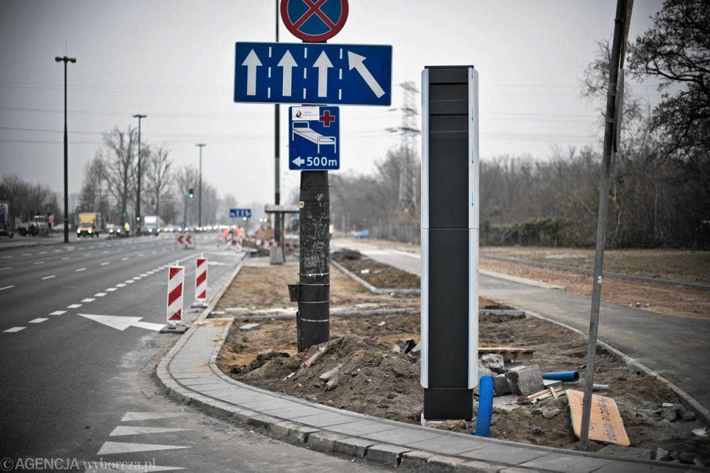 Nowy fotoradar na skrzyżowaniu Sobieskiego z Witosa