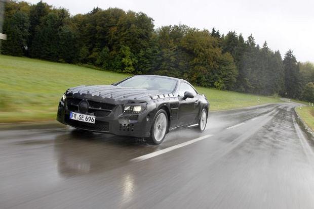 Nowy Mercedes SL