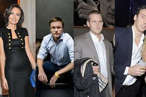 Dominika Kulczyk-Lubomirska, Łukasz Wejchert, Michał Niemczycki, syn Joanny Przetakiewicz.