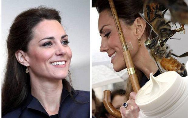 Kate Middleton stawia na jad pszczeli zamiast botoksu?