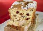�wi�teczny keks biszkoptowy