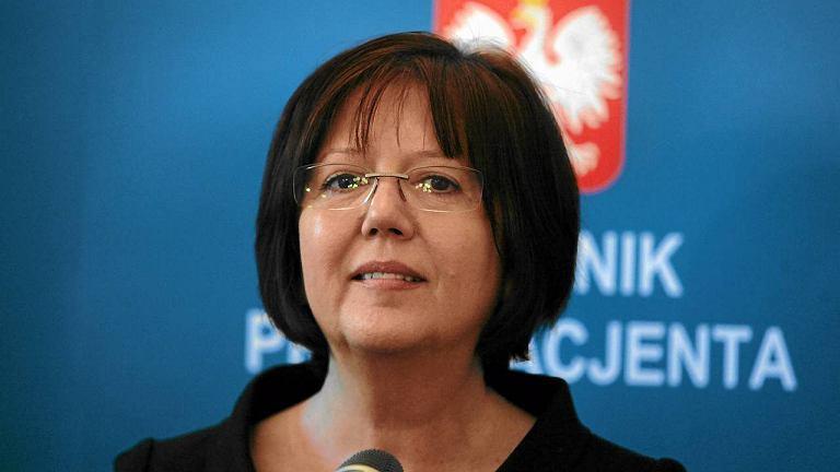 Rzecznik Praw Pacjenta Krystyna Kozłowska