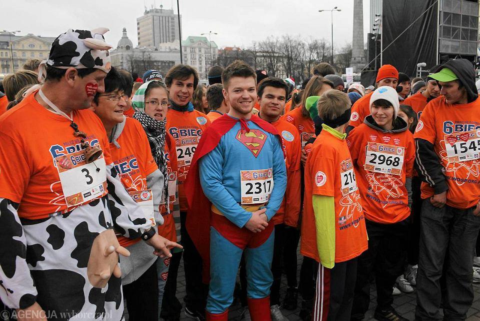 444c35f942f0f2 Zdjęcie numer 10 w galerii - Superman i Spartanie wśród tysięcy biegaczy w  centrum