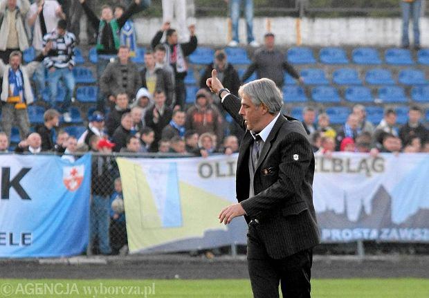 Trener Tomasz Arteniuk